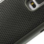 Odolný obal 2v1 pre mobil Samsung Galaxy S5 - šedý - 5/6