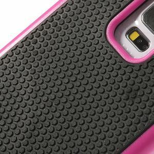 Odolný obal 2v1 pre mobil Samsung Galaxy S5 - rose - 5