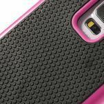 Odolný obal 2v1 pre mobil Samsung Galaxy S5 - rose - 5/6