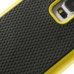 Odolný obal 2v1 na mobil Samsung Galaxy S5 - žlutý - 5/6