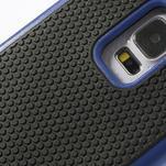 Odolný obal 2v1 na mobil Samsung Galaxy S5 - modrý - 5/6