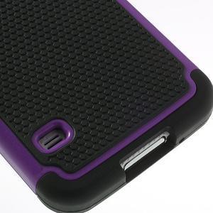Odolný obal 2v1 na mobil Samsung Galaxy S5 - fialový - 5