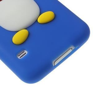 Penguin silikonový obal na Samsung Galaxy S5 - modrý - 5