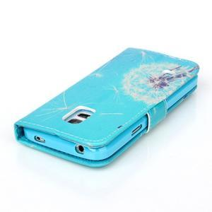Stand peněženkové pouzdro na Samsung Galaxy S5 mini - odkvetlá pampeliška - 5