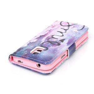 Stand peňaženkové puzdro pre Samsung Galaxy S5 mini - smile - 5