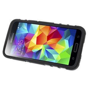 Outdoor odolný obal pre mobil Samsung Galaxy S5 mini - čierný - 5
