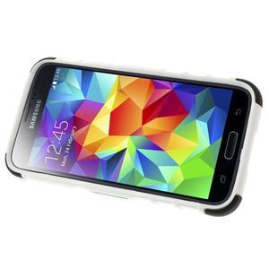 Outdoor odolný obal pre mobil Samsung Galaxy S5 mini - biely - 5