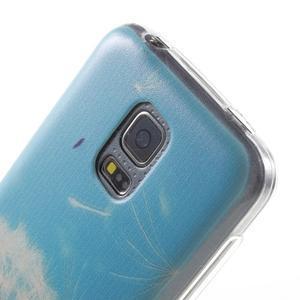 Gelový kryt na mobil Samsung Galaxy S5 mini - pampeliška - 5