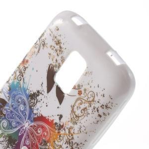 Softy gélový obal pre Samsung Galaxy S5 mini - farebný motýl - 5