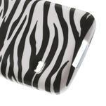 Softy gélový obal pre Samsung Galaxy S5 mini - zebra - 5/5