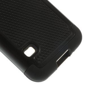 Odolný kryt 2v1 pre mobil Samsung Galaxy S5 mini - čierný - 5