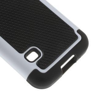 Odolný kryt 2v1 na mobil Samsung Galaxy S5 mini - bílý - 5