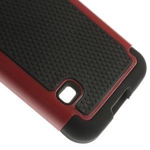 Odolný kryt 2v1 pre mobil Samsung Galaxy S5 mini - červený - 5