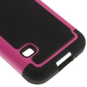 Odolný kryt 2v1 pre mobil Samsung Galaxy S5 mini - rose - 5