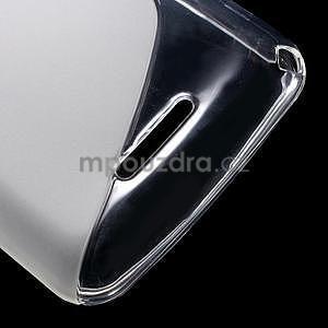 S-line gélový obal pre Sony Xperia E4g - transparentný - 5