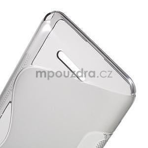 S-line gélový obal pre Sony Xperia E4g -  sivý - 5