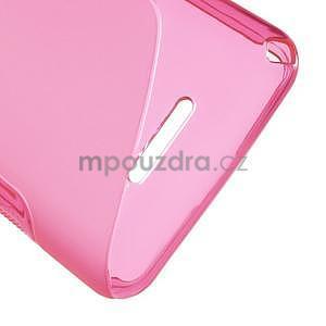 S-line gélový obal pre Sony Xperia E4g -  rose - 5