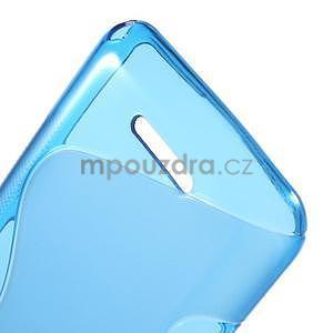 S-line gélový obal pre Sony Xperia E4g -  modrý - 5