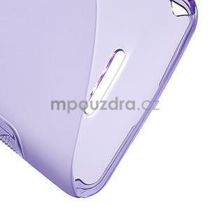 S-line gélový obal pre Sony Xperia E4g -  fialový - 5