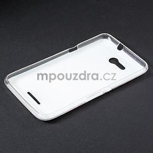 Gélový obal pre Sony Xperia E4g - úsmev - 5