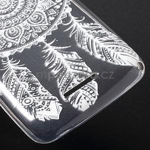 Gélový obal pre Sony Xperia E4g -  tribal - 5