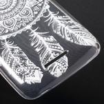 Gélový obal pre Sony Xperia E4g -  tribal - 5/5