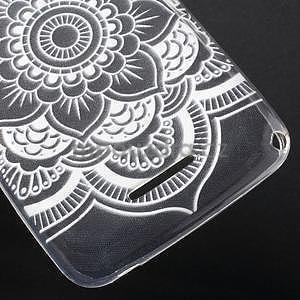 Gélový obal pre Sony Xperia E4g - henna - 5