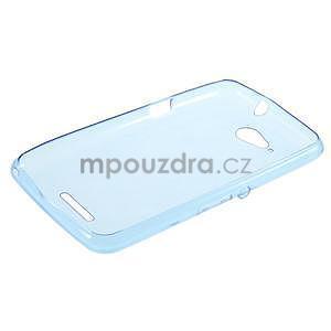 Ultra tenký gélový obal pre Sony Xperia E4g -  modrý - 5