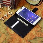 Standy Peňaženkové puzdro Sony Xperia M2 Aqua - US vlajka - 5/5