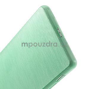 Brúsený gélový obal pre Sony Xperia Z2 - azurový - 5