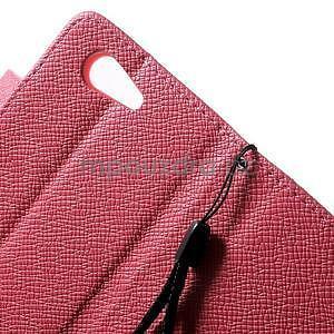 Rose peněženkové pouzdro na Sony Xperia Z3 Compact - 5