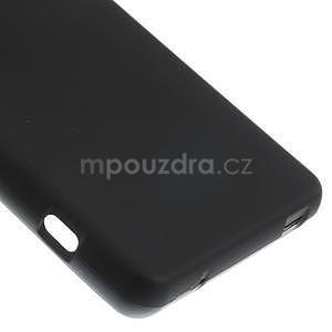 Černý matný gelový obal na Sony Xperia Z3 Compact - 5