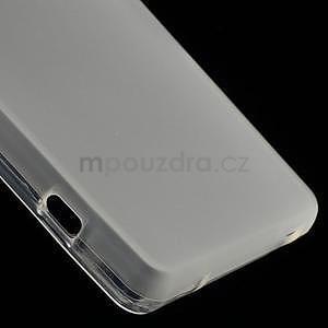 transparentné matný gélový obal pre Sony Xperia Z3 Compact - 5
