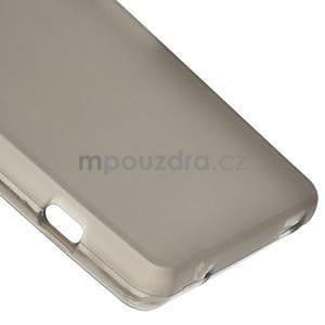 sivý matný gélový obal pre Sony Xperia Z3 Compact - 5
