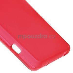 Červený matný gélový obal pre Sony Xperia Z3 Compact - 5