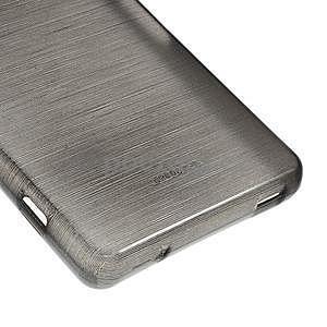 Brúsený obal pre Sony Xperia Z3 Compact D5803 - čierny - 5