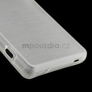 Broušený obal na Sony Xperia Z3 Compact D5803 - bílý - 5