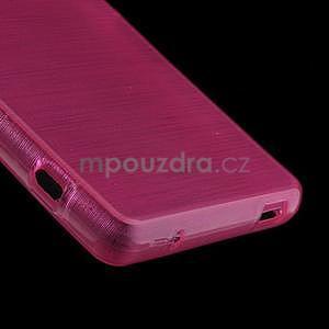 Brúsený obal pre Sony Xperia Z3 Compact D5803 - rose - 5