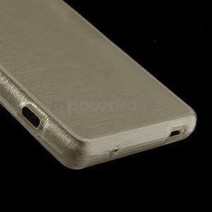 Brúsený obal pre Sony Xperia Z3 Compact D5803 - champagne - 5