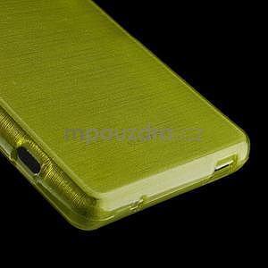 Brúsený obal pre Sony Xperia Z3 Compact D5803 - zelený - 5