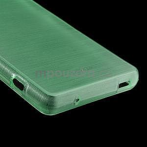 Brúsený obal pre Sony Xperia Z3 Compact D5803 - azurový - 5