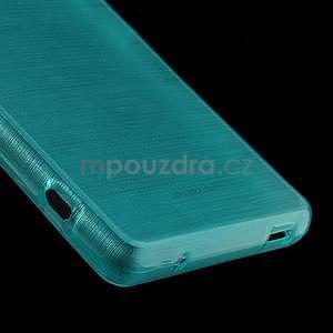 Brúsený obal pre Sony Xperia Z3 Compact D5803 - tyrkysový - 5