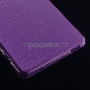 Brúsený obal pre Sony Xperia Z3 Compact D5803 - fialový - 5