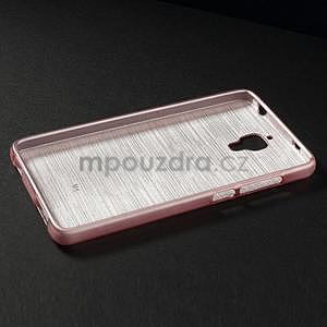 Brúsený kryt pre Xiaomi 4 MI4 - ružový - 5