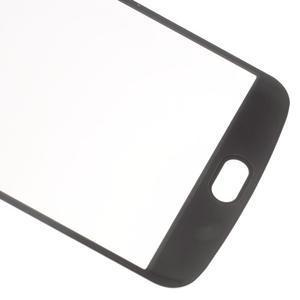 Celoplošné fixačné tvrdené sklo pre displej LG K10 - čierne - 5