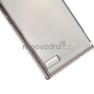 Gélové puzdro na Huawei Ascend P6 - šedé - 5