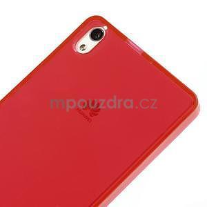 Gélové puzdro na Huawei Ascend P6 - červené - 5