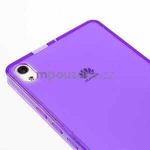 Gélové puzdro na Huawei Ascend P6 - fialové - 5