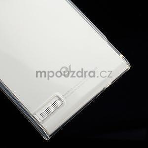 Gélové puzdro na Huawei Ascend P6 - transparentný - 5