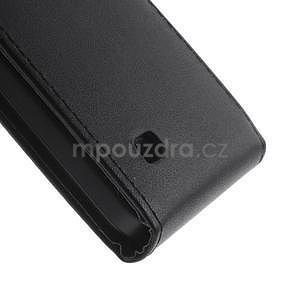 Kožené flipové puzdro na Huawei Ascend Y550 - 5